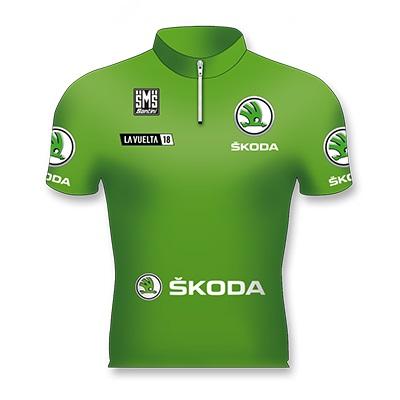 Reglement Vuelta a España 2018 - Grünes Trikot (Punktewertung)