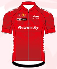 Reglement Gree-Tour of Guangxi 2018 - Rotes Trikot (Gesamtwertung)