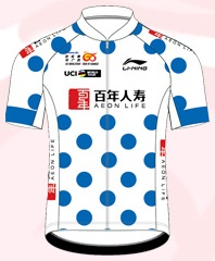 Reglement Gree-Tour of Guangxi 2018 - Gepunktetes Trikot (Bergwertung)