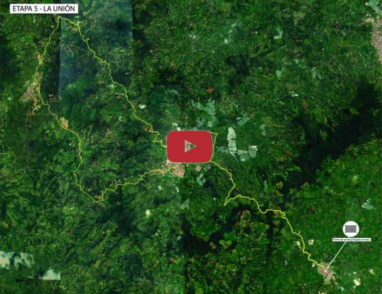 Streckenverlauf Tour Colombia 2.1 2019 - Etappe 5