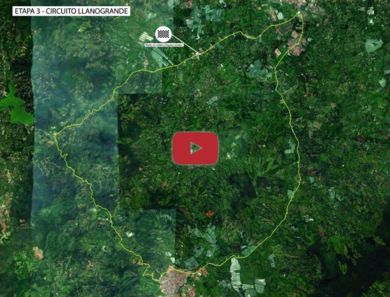 Streckenverlauf Tour Colombia 2.1 2019 - Etappe 3