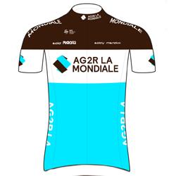 Trikot AG2R La Mondiale (ALM) 2019 (Quelle: UCI)