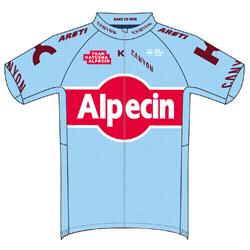 Trikot Team Katusha Alpecin (TKA) 2019 (Quelle: UCI)