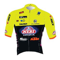 Trikot Neri Sottoli Selle Italia KTM (NSK) 2019 (Quelle: UCI)