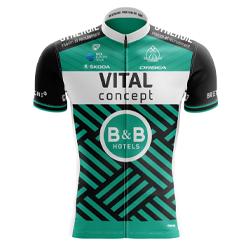 Trikot Vital Concept - B&B Hotels (VCB) 2019 (Quelle: UCI)