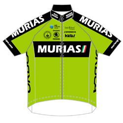 Trikot Euskadi Basque Country - Murias (EUS) 2019 (Quelle: UCI)