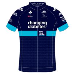 Trikot Team Novo Nordisk (TNN) 2019 (Quelle: UCI)
