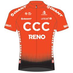 Trikot CCC Team (CPT) 2019 (Quelle: UCI)