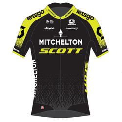 Trikot Mitchelton - Scott (MTS) 2019 (Quelle: UCI)