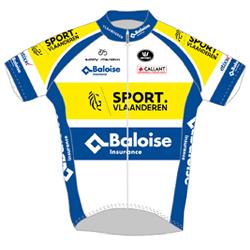 Trikot Sport Vlaanderen - Baloise (SVB) 2019 (Quelle: UCI)