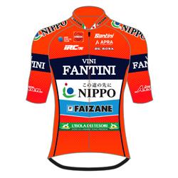 Trikot Nippo - Vini Fantini - Faizanè (NIP) 2019 (Quelle: UCI)
