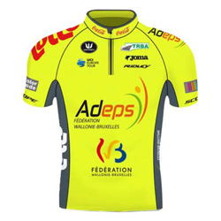 Trikot Wallonie Bruxelles (WVA) 2019 (Quelle: UCI)