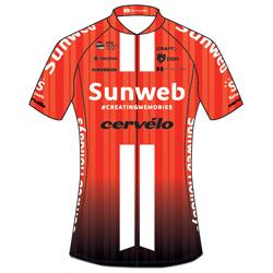 Trikot Team Sunweb (SUN) 2019 (Quelle: UCI)