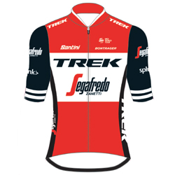 Trikot Trek - Segafredo (TFS) 2019 (Quelle: UCI)