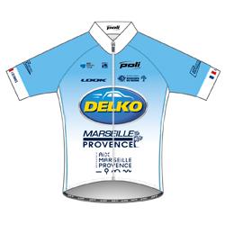 Trikot Kader Delko Marseille Provence (DMP) 2019 (Quelle: UCI)