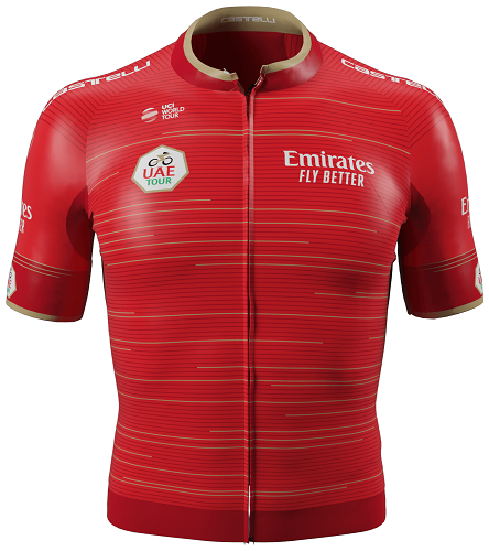 Reglement UAE Tour 2019 - Rotes Trikot (Gesamtwertung)