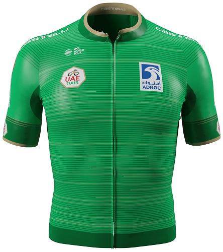 Reglement UAE Tour 2019 - Grünes Trikot (Punktewertung)