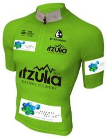 Reglement Itzulia Basque Country 2019 - Grünes Trikot (Punktewertung)