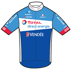 Trikot Total Direct Energie (TDE) 2019 (Quelle: UCI)