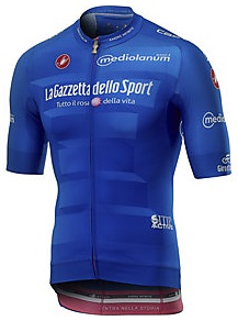 Reglement Giro d'Italia 2019 - Blaues Trikot (Bergwertung)