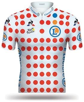 half off 5507c 74024 Reglement Tour de France 2019 - Weißes Trikot mit roten ...
