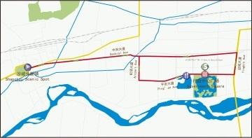Streckenverlauf Tour of Qinghai Lake 2019 - Etappe 12