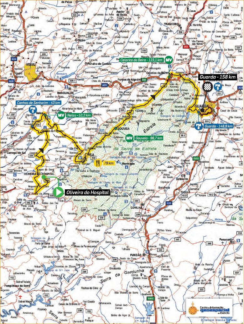Streckenverlauf Volta a Portugal Santander 2019 - Etappe 5