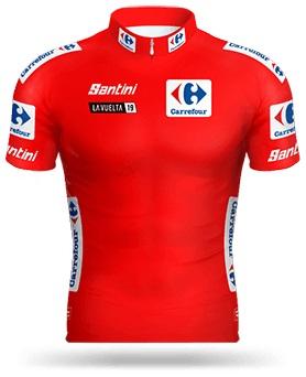 Reglement Vuelta a España 2019 - Rotes Trikot (Gesamtwertung)
