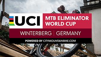 Vorletzte Runde Cross-Country-Eliminator: Fromberger bei Heimrennen auf Platz zwei