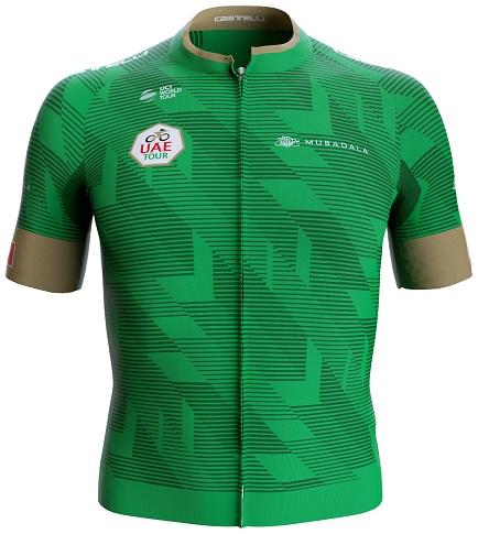 Reglement UAE Tour 2020 - Grünes Trikot (Punktewertung)
