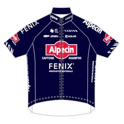 Trikot Alpecin - Fenix (AFC) 2020 (Quelle: UCI)