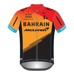 Trikot Bahrain - McLaren (TBM) 2020 (Quelle: UCI)