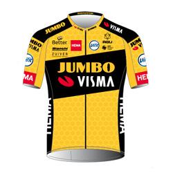 Trikot Team Jumbo - Visma (TJV) 2020 (Quelle: UCI)