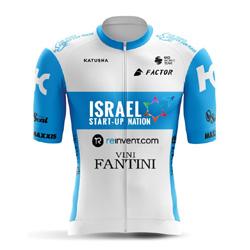 Trikot Israel Start-Up Nation (ISN) 2020 (Quelle: UCI)