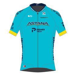 Trikot Astana Pro Team (AST) 2020 (Quelle: UCI)