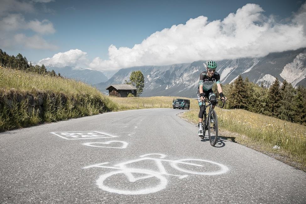Der Tour de France-Vierte im Ötztal (Foto: Ötztal Tourismus / Rudi Wyhlidal)