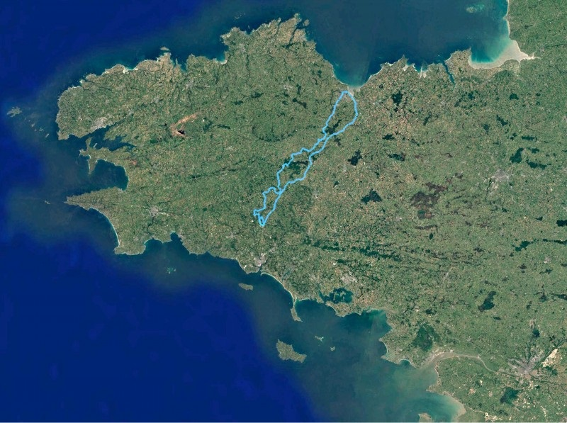 Streckenverlauf Bretagne Classic - Ouest-France 2020