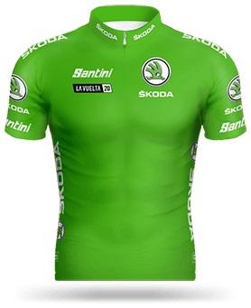 Das Grüne Trikot für den Gewinner der Punktewertung