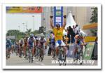 Mattia Gavazzi gewinnt auch die 3. Etappe der Tour de Langkawi 2009 (Foto: www.ltdl.com.my)