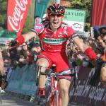 Vuelta a Castilla y Leon: Sobrino gewinnt 1. Etappe vor Schweizer Vitoria - Armstrong gestürzt