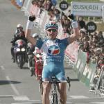 Ausreißer Trofimov gewinnt zweite Etappe der Vuelta al Pais Vasco