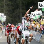 Di Luca setzt LPR-Serie beim Giro d´Italia fort - aber ein Schwede trägt Rosa