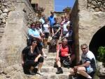 Die Radwanderer auf Entdeckungstour