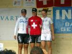 Siegerpodest Schweizermeisterschaft Strasse Frauen Elite