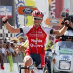 Portugal Rundfahrt, Aveiro - Oleg Chuzhda gewinnt die 8. Etapp