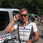 Hanka Kupfernagel beim Nordhäuser Aktionstag Rund um den Radsport