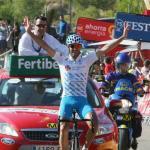 Valverde nimmt Evans Gold ab - erster spanischer Etappensieg durch Gustavo César