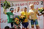 Von links nach rechts: Tanja Hennes, Claudia Häusler,  Oenone Wood,Theresa Senff (<i>Quelle: http://www.sparkassen-giro.de/start.htm</i>