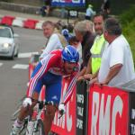 Tour de l`Avenir - Yoann Bagot kurz vor dem Ziel