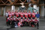 das Gruppenfoto der Swiss Alpen Ride 2006